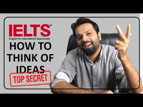 IELTS Writing - How to think of ideas? Part 2