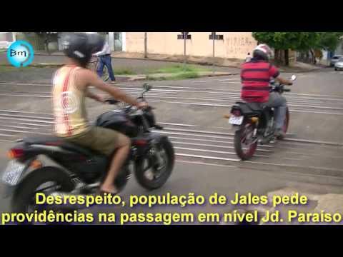 Jales - População cobra providências de Passagem em nível do Jd Paraíso, Prefeitura diz que responsabilidade é da ALL.