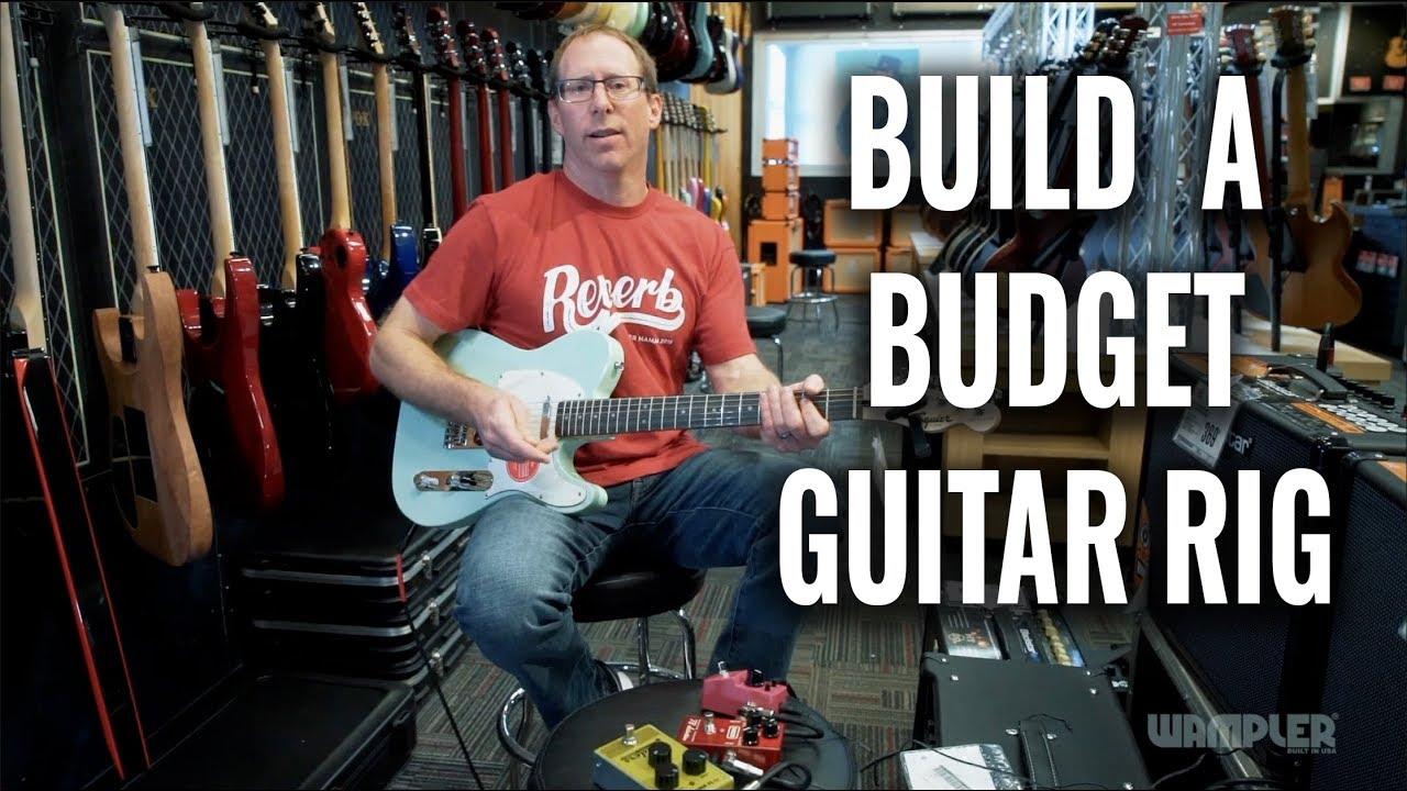 Building a Budget Guitar Rig at Guitar Center
