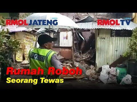 Rumah Roboh di Semarang, Seorang Penghuni Tewas