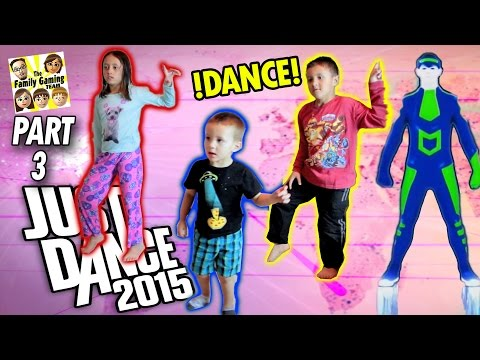 FGTEEV Kids play Just Dance 2015! Who Has The Best Moves? (One Direction, Austin Mahone, Maroon 5) (видео)