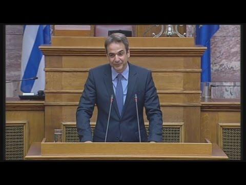 Επίθεση στον ΣΥΡΙΖΑ για «τσουνάμι» λαϊκισμού από τον Κυρ. Μητσοτάκη