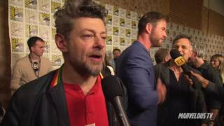 Andy Serkis 'BLACK PANTHER' Comic-Con 2017 Andy Serkis
