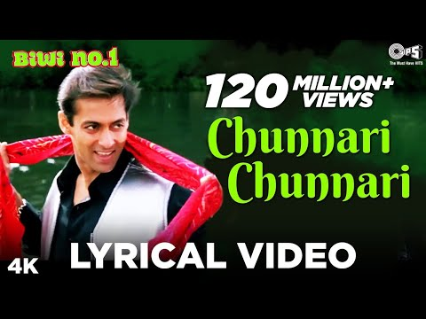 Download Chunnari Chunnari Lyrical Video - Biwi No.1 | Salman Khan & Sushmita Sen | Anu Malik