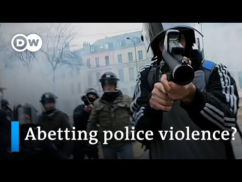 French security bill to curb filming of police sparks outrage | DW News