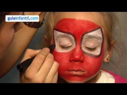 Maquillage des enfants. Spiderman