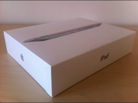 Apple iPad 2 16GB WiFi Black Unboxing