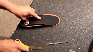 How to Trim Ski Boot Footbeds