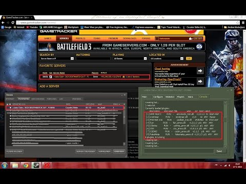 How to create counter strike 1.6 server online, and add to gametracker