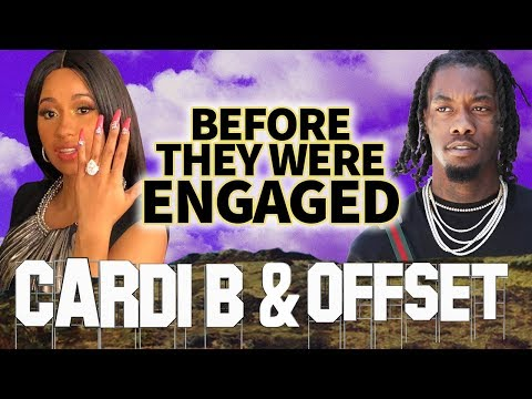 CARDI B & OFFSET - Before They Were ENGAGED - Proposal Video