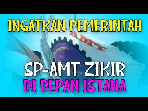 Ingatkan Pemerintah, SP-AMT Zikir Di Depan Istana