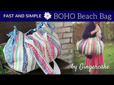 FAST and SIMPLE Boho Beach Bag