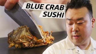 How This Sushi Master Uses Traditional Raw Korean Blue Crab in His Omakase — Omakase by Eater
