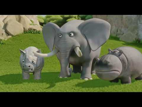 The jungle bunch in hindi S2 / (episode 1 The cube)