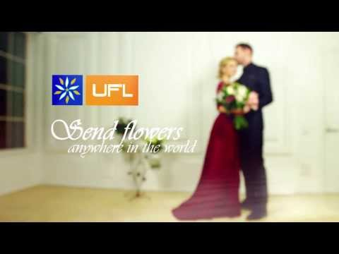 Beautiful video Valentine's day. UFL – flower delivery all the world