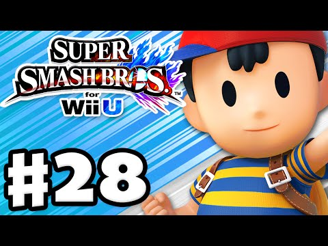 nintendo - Super Smash Bros Wii U Gameplay Walkthrough Part 28! Thanks for every Like and Favorite on Super Smash Bros! Part 28 features gameplay of Ness, and I use Amiibos! This series will cover Smash,.