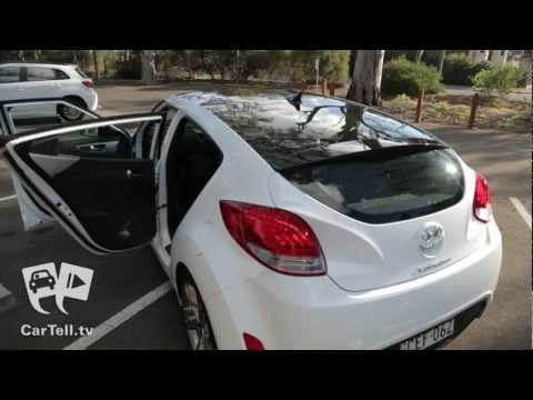 Hyundai Veloster + 2013 – Review