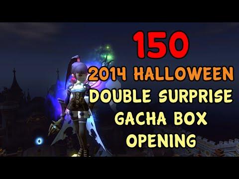 Dragon Nest SEA - 150 2014 Halloween Double Surprise Gacha Box Opening ~!