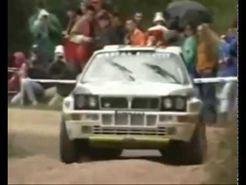 lancia delta hf integrale 8v rally 1988