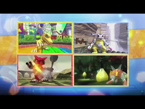 STAR - Digimon All-Star Rumble Trailer (Gameplay) (Digimon Fighting Game) Subscribe ▻ http://bit.ly/GamesHQMedia.
