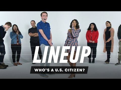 People Try to Guess Who s a US Citizen from a Group of