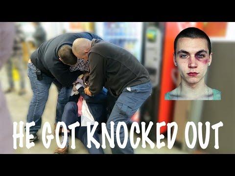 HUGE FIGHT IN MCDONALDS !!! (видео)