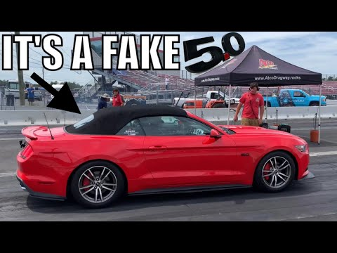 WE SNUCK AN ECOBOOST MUSTANG INTO A COYOTE SHOOTOUT RACE!