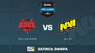 Hellraisers vs Na'Vi - ESL Pro League S6 EU - de_overpass [yXo, CrystalMay]
