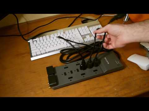 Belkin 12 Outlet Surge Protector/Power Strip Unboxing and Review (Maybe?)