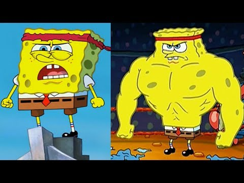 Spongebob Squarepants Body Transformation