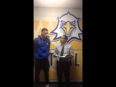 #TCCBasketball vs. Pensacola State: Postgame with Stavian Allen