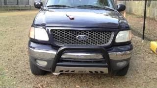 How to install an Aries Bull Bar on a 2001 Ford F150 4x4