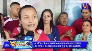 Representante de la JPsuv Trujillo, Irochima Vasquéz