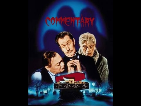 The Comedy Of Terrors 1964 Vincent Price Boris Karloff Movie Commentary