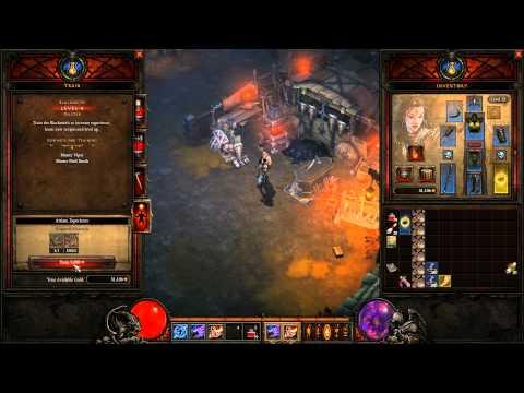 Diablo 3 Beta - CZ ukázka - Crafting