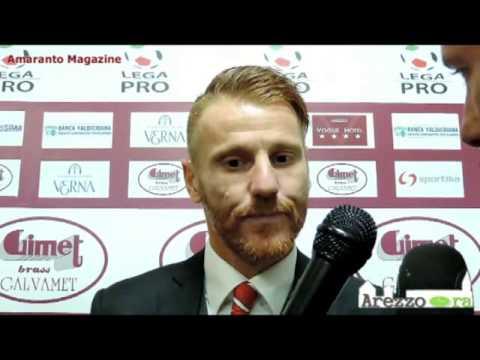 Arezzo-Real Vicenza 2-0 / Intervista a Marcolini
