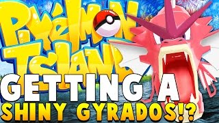 SHINY GYARADOS - Minecraft PIXELMON ISLAND - Pokemon QUESTS