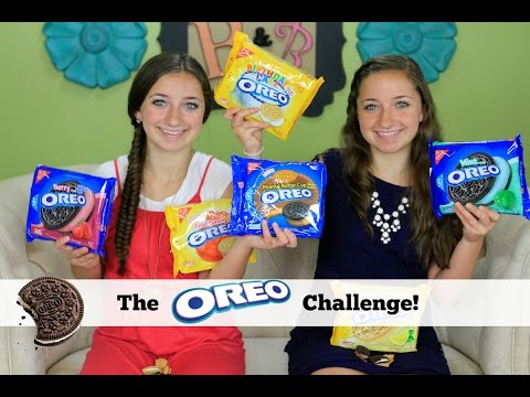 The Oreo Challenge | Brooklyn and Bailey