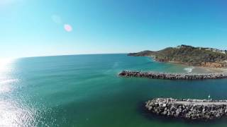 Evans Head Australia  city photos gallery : Shark footage from the MJ Visual Media drone at Evans Head, NSW, Australia.