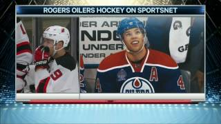 Oilers & fans pay tribute to Hall in return as a Devil