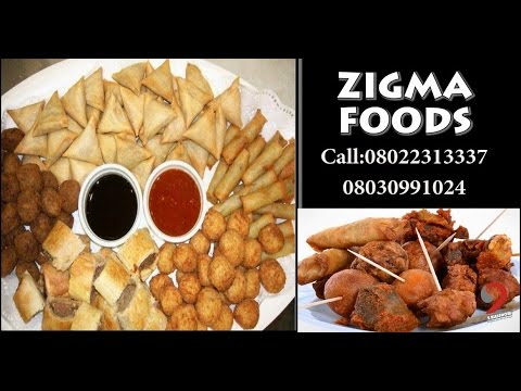 Owambe Small Chops For Party?  by Zigma Foods (2BlesShow)