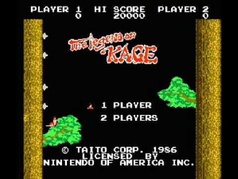 the legend of kage nes cheats
