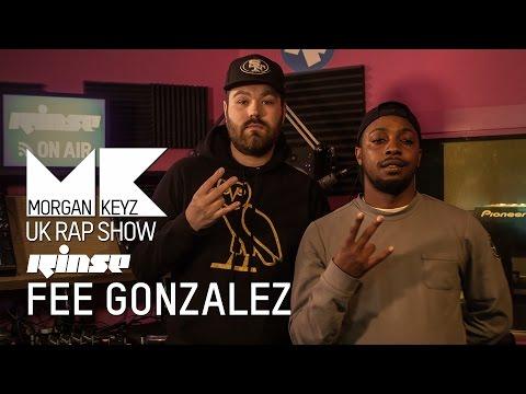 FEE GONZALEZ | FREESTYLE | UK RAP SHOW @RinseFM @MorganKeyz @feegonzales_