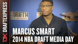 2014 Marcus Smart Interview - DraftExpress - NBA Draft Media Day