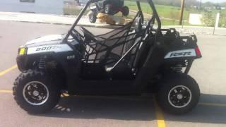 8. 2011 Polaris Ranger RZR 800 EPS Super Graphite Rally LE