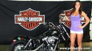 7. New 2013 Harley-Davidson FXDB Dyna Street Bob in Vivid Black for Sale