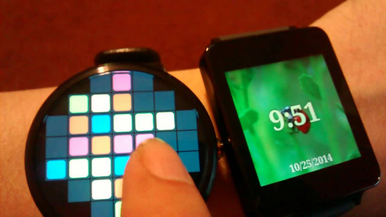 Descargar Android Wear Apps – Game Demo On Moto 360 & G Watch para Celular  #Android