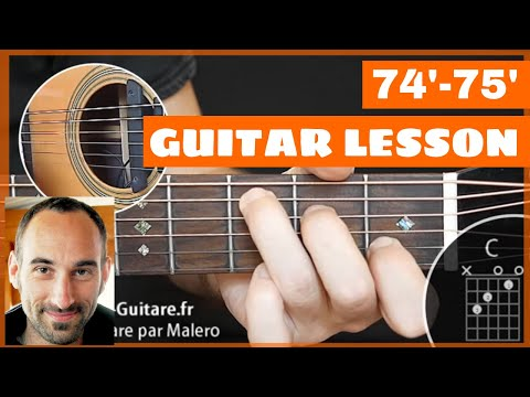 '74-'75 Guitar Lesson - Part 1 Of 9
