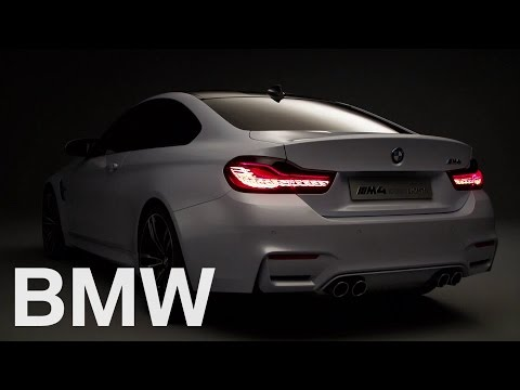 The future of tail light innovation today. BMW organic light OLED.