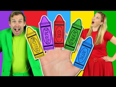 Colors Finger Family - Learn Colors with the Finger Family Nursery Rhyme   Baby Songs - Thời lượng: 115 giây.